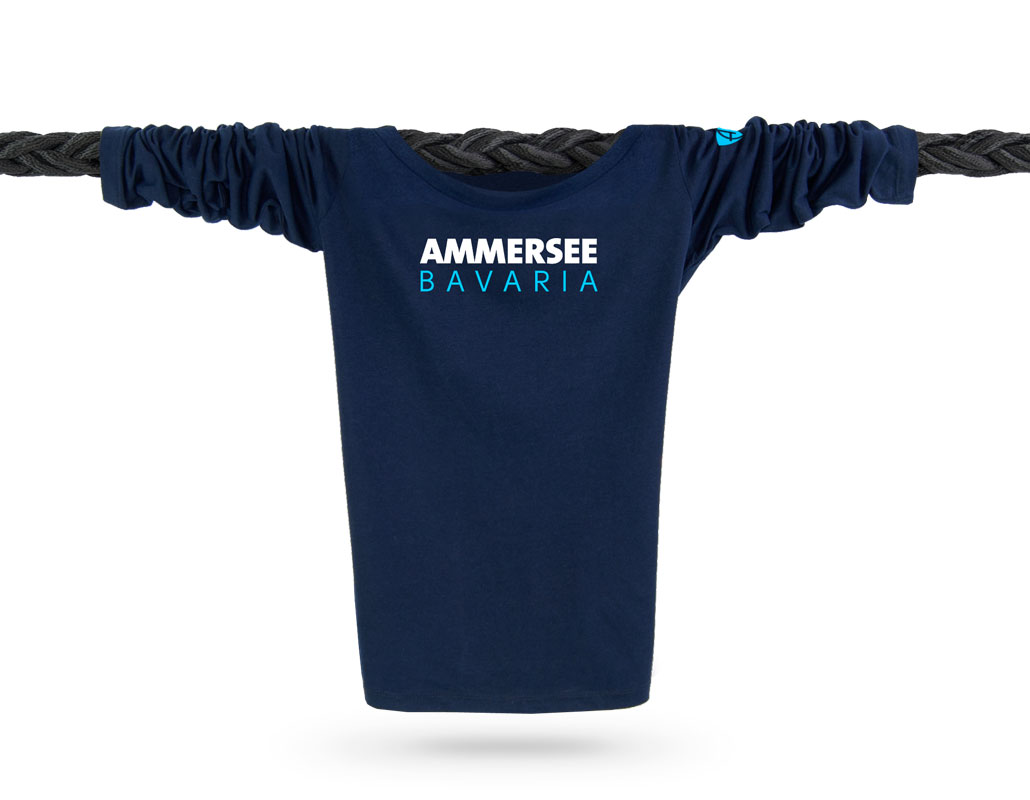 Bio-Baumwolle Feminin Langarm-T-Shirt aus Bayern, Deutschland