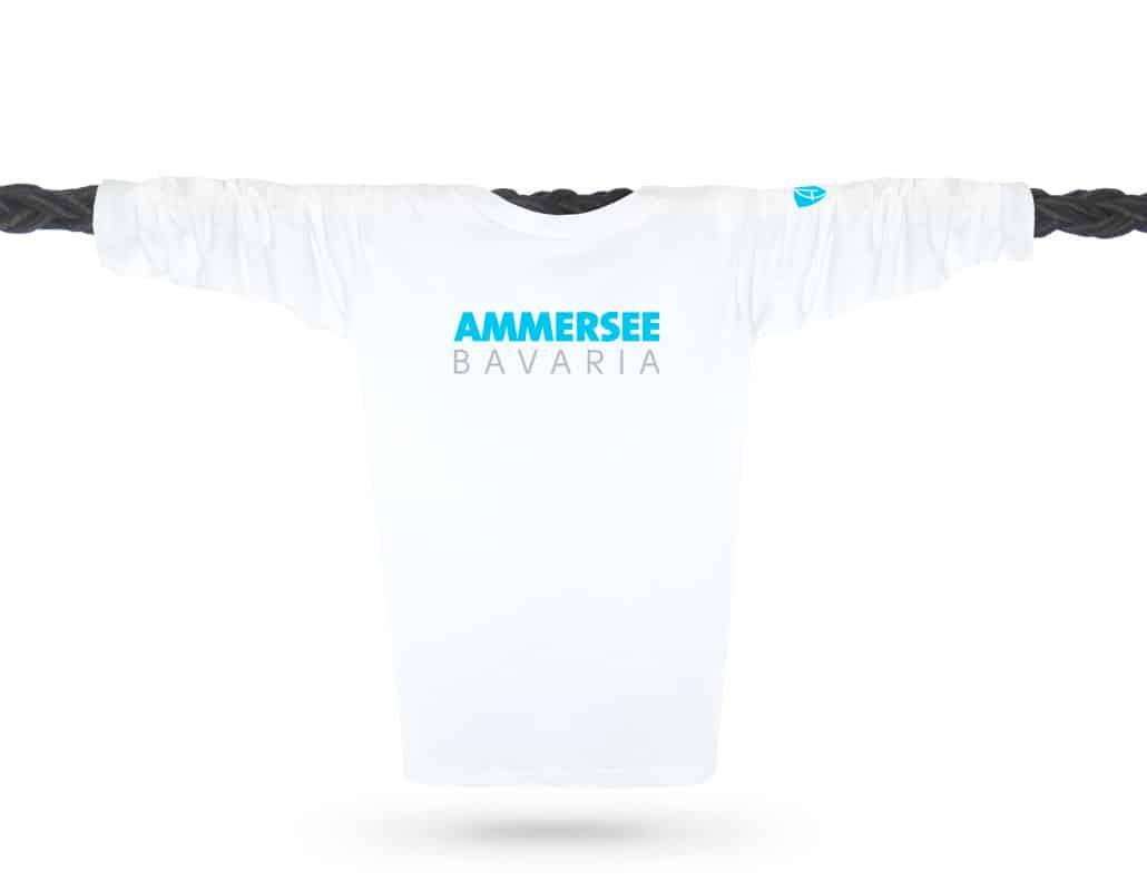 Bio-Baumwolle Herren Langarm-T-Shirt aus Bayern, Deutschland