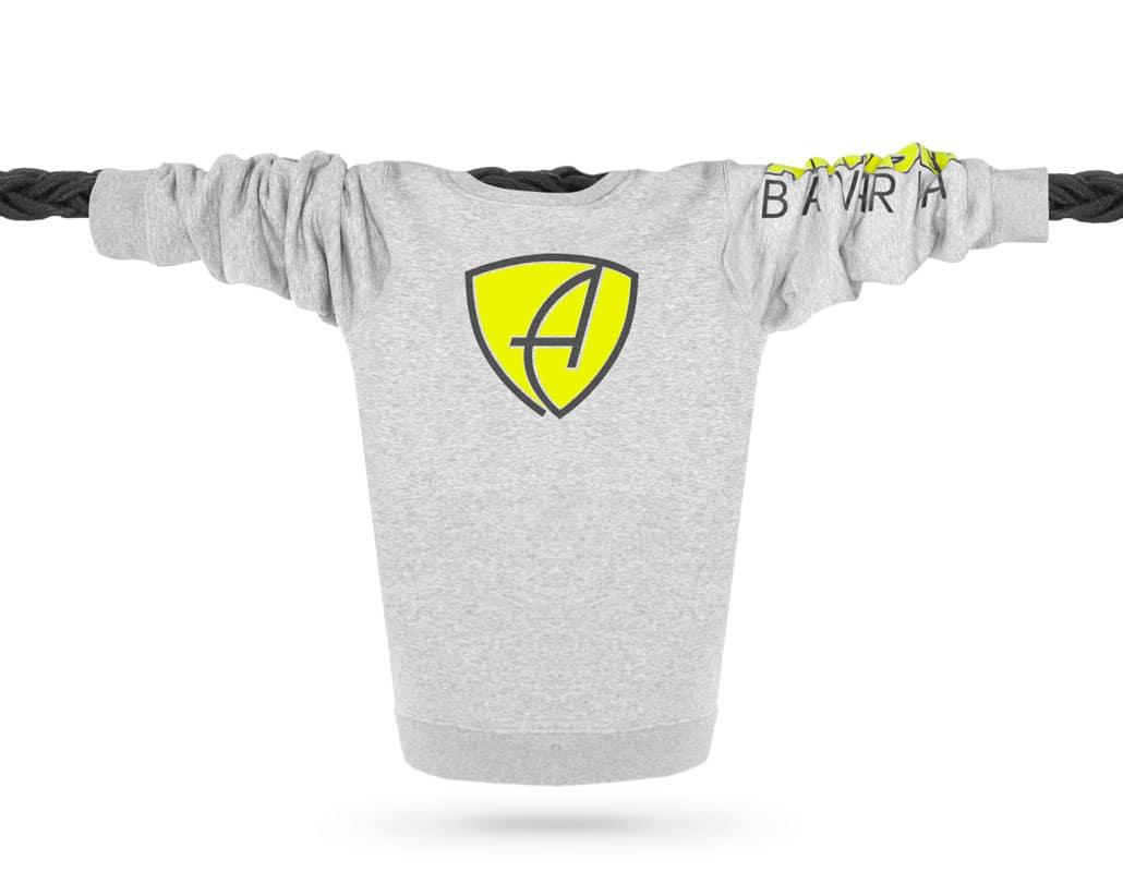 Bio-Baumwolle Sweatshirt Pullover aus Bayern, Deutschland
